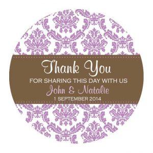 Wedding Favor Labels - Custom Wedding Stickers - Wedding Labels for Favors  Rustic Wedding Favor Labels